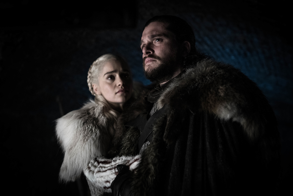 Daenerys Targaryen and Jon Snow in Season 8, Episode 2 of 'Game of Thrones.'