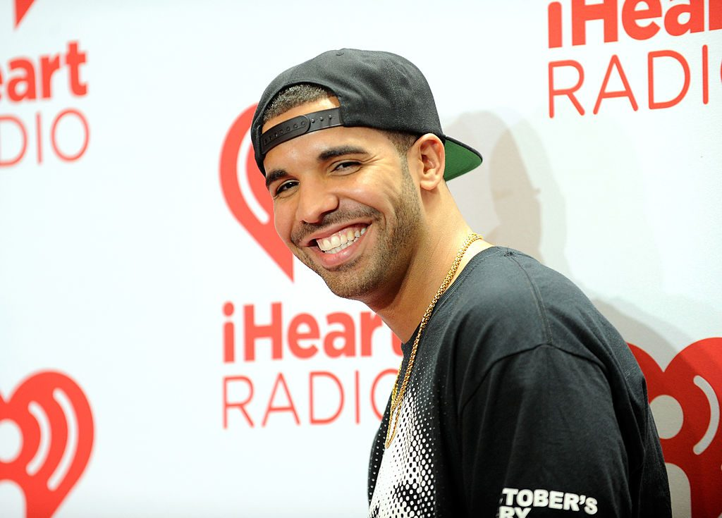 Drake attends the iHeartRadio Music Festival at the MGM Grand Garden Arena.