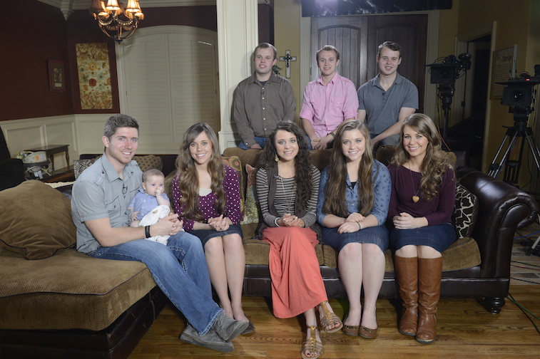 The Duggar family on Good Morning America