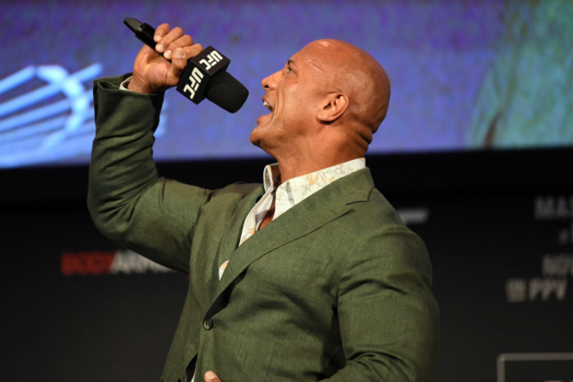 Dwayne 'The Rock' Johnson Producing Biopic on UFC Star