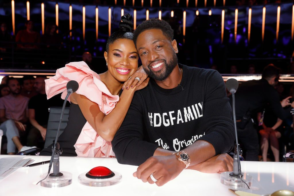 Gabrielle Union and Dwyane Wade on 'America's Got Talent'