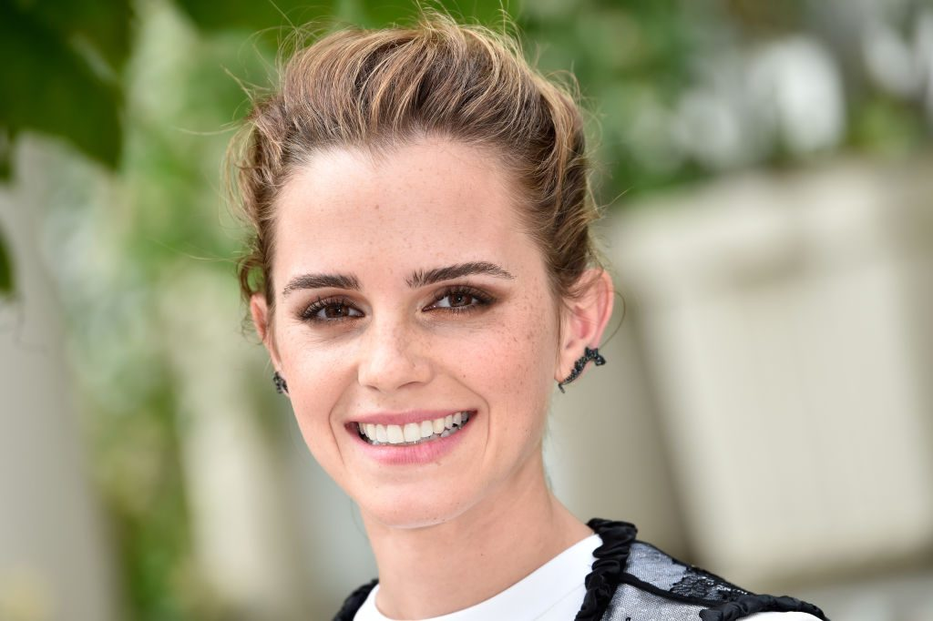 "Emma Watson attends ""The Circle"" Paris Photocall at Hotel Le Bristol."