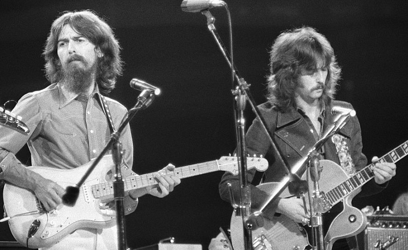 The Classic Beatles Song George Harrison Wrote in Eric Clapton's Backyard