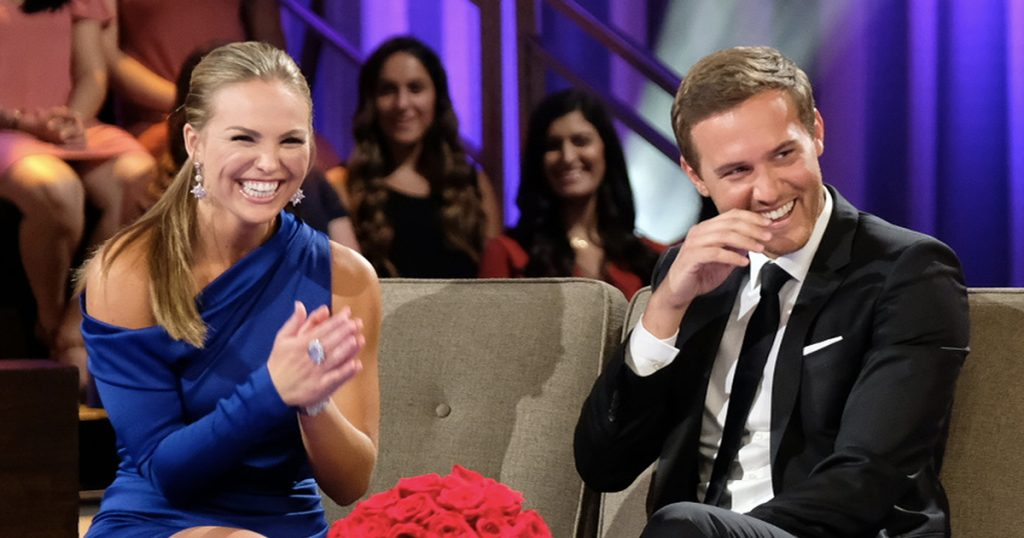 Hannah Brown and Peter Weber on 'The Bachelorette'