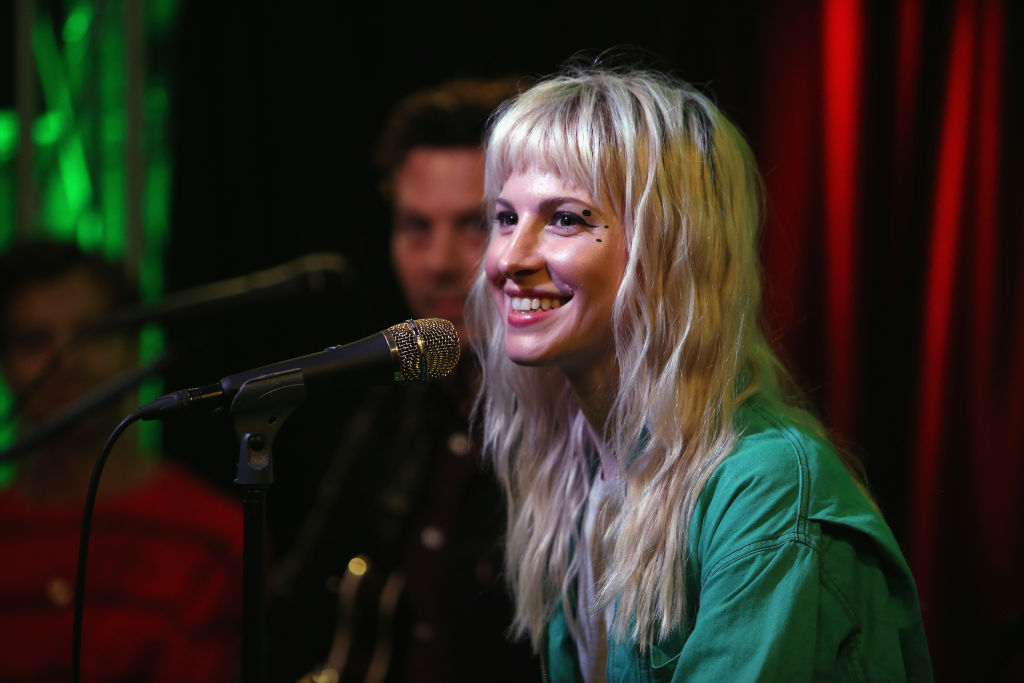 Hayley Williams of Paramore performs at Radio 104.5 Performance Theater October 9, 2017.