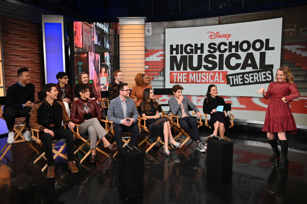 The cast of 'High School Musical: The Musical: The Series' on 'Good Morning America,' along with creator / executive producer Tim Federle to speak about the show.