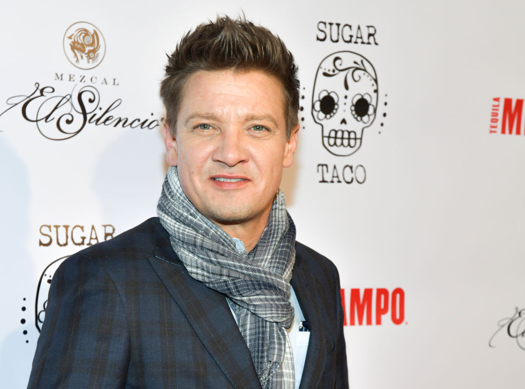 Jeremy Renner at the opening of Sugar Taco.