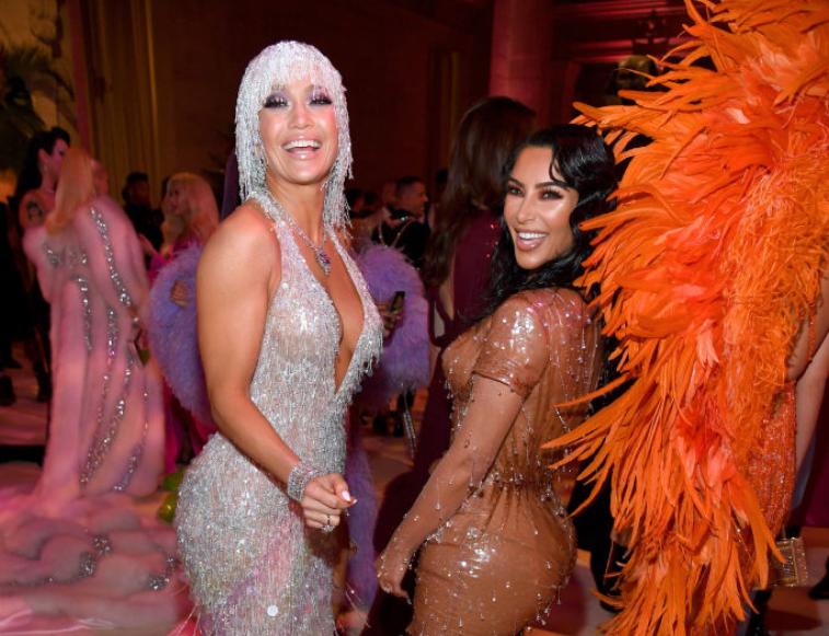 Jennifer Lopez and Kim Kardashian West