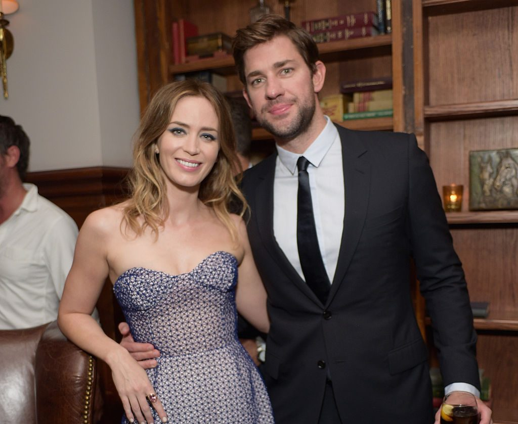 Emily Blunt and John Krasinski attend the Sicario TIFF party.