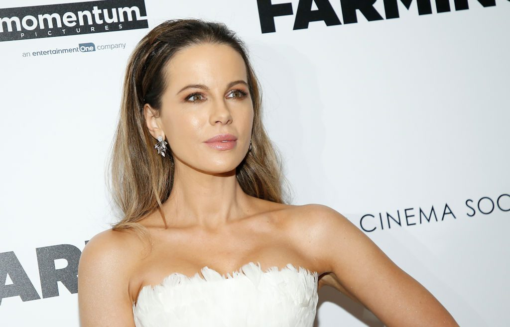 "Kate Beckinsale attends ""Farming"" New York Screening at Village East Cinema."