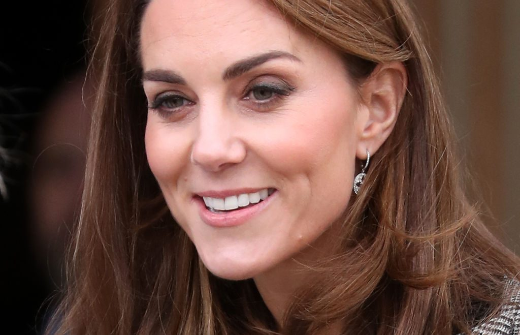 Kate Middleton attends Shout's Crisis Volunteer Celebration Event.