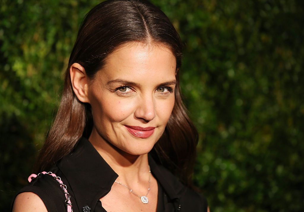 Katie Holmes attends the 11th Annual Chanel Tribeca Film Festival Artists Dinner.