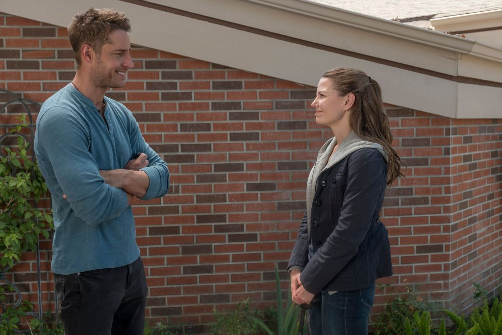 Justin Hartley as Kevin and Jennifer Morrison as Cassidy on NBC's 'This Is Us.'