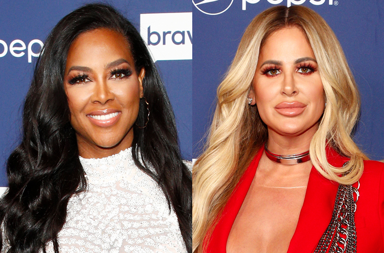 Kenya Moore and Kim Zolciak-Biermann