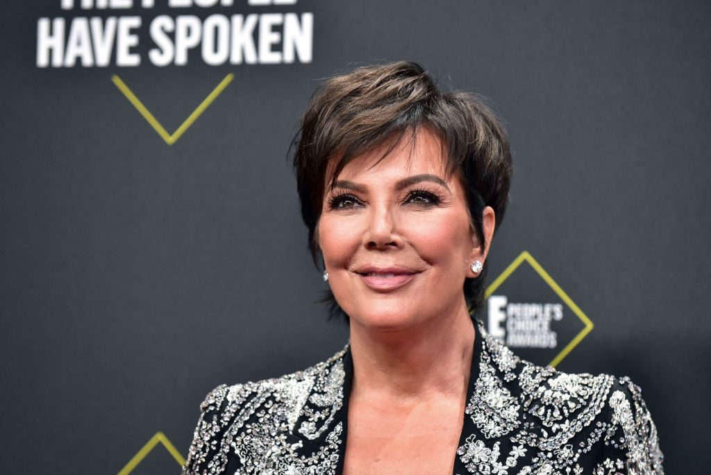 Kris Jenner attends the 2019 E! People's Choice Awards.
