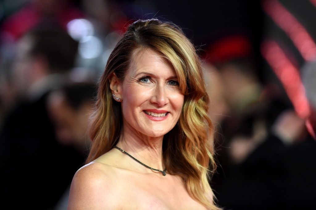 Laura Dern attends the European Premiere of 'Star Wars: The Last Jedi' at Royal Albert Hall.