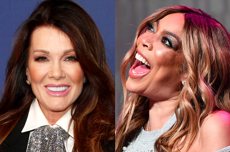 Lisa Vanderpump and Wendy Williams