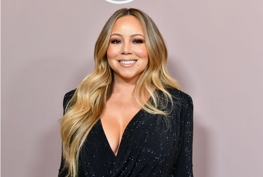 Mariah Carey on the red carpet at Variety's 2019 Power of Women.