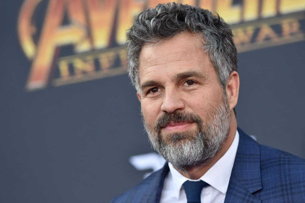 Mark Ruffalo at the premiere of  'Avengers: Infinity War'