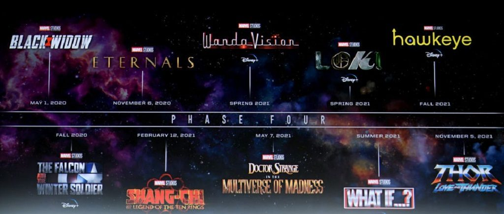 The Marvel Cinematic Universe Phase Four