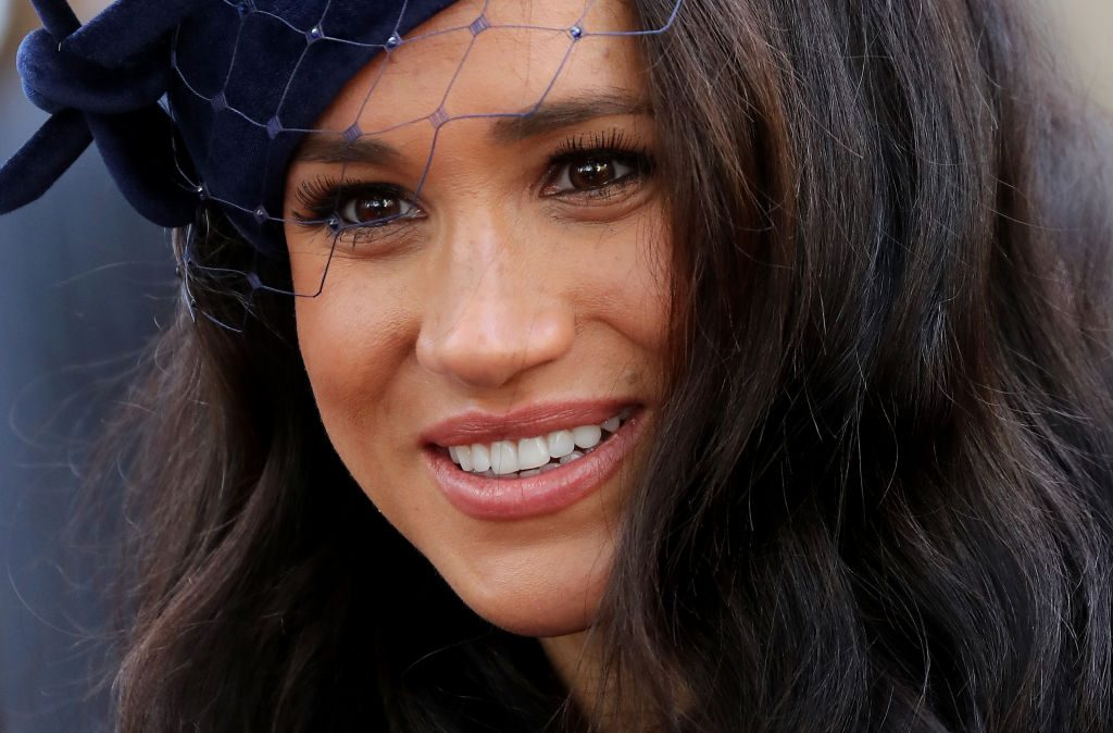 Meghan Markle attends the 91st Field of Remembrance at Westminster Abbey.