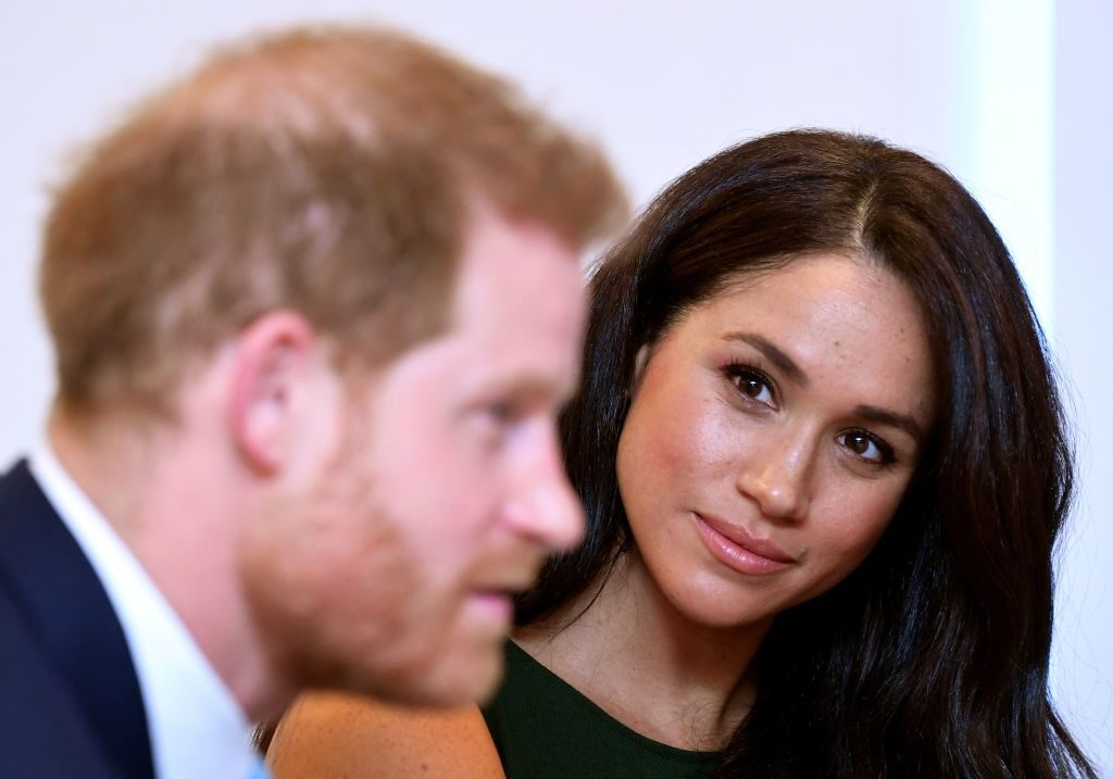 Prince Harry and Meghan Markle attend the annual WellChild Awards in London on October 15, 2019.