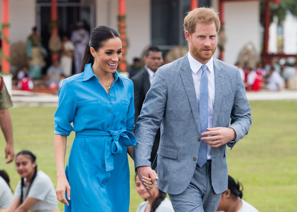 meghan markle accidentally broke royal protocol when she started dating prince harry https www cheatsheet com entertainment meghan markle accidentally broke royal protocol when she started dating prince harry html