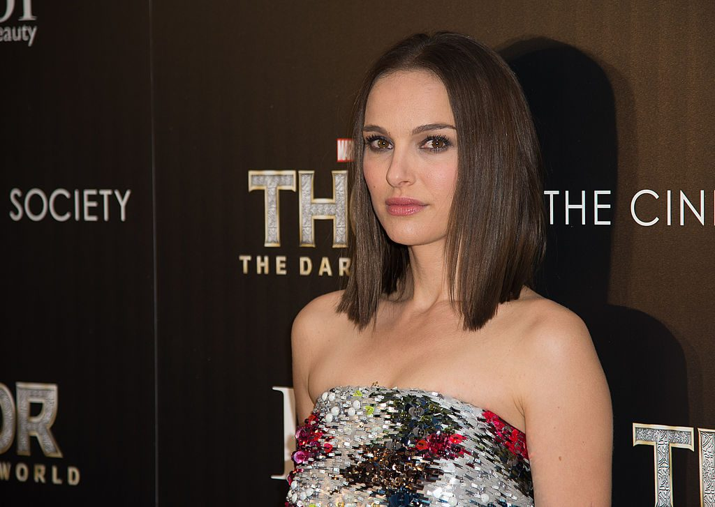 """Natalie Portman attends a screening of """"Thor: The Dark World"""" hosted by The Cinema Society And Dior Beauty."""