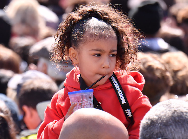 North West at the March For Our Lives event