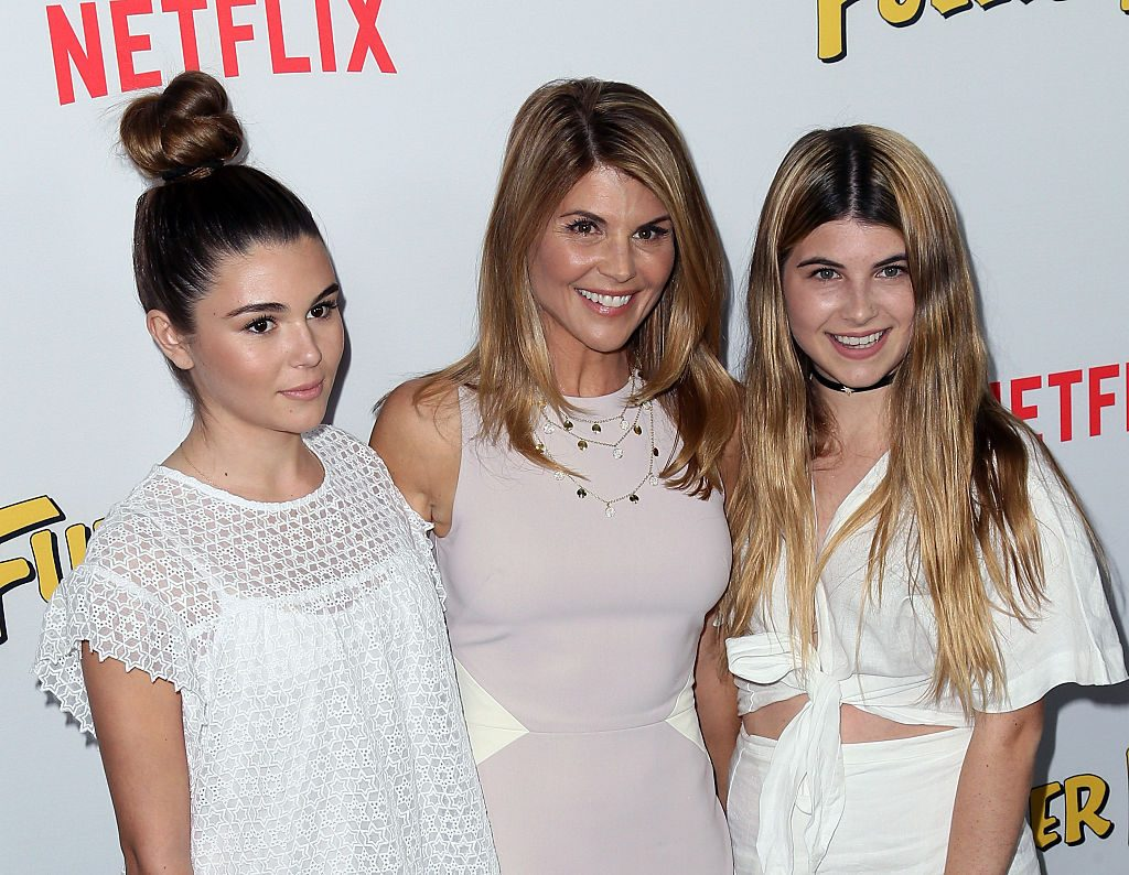 Lori Loughlin and daughters Isabella Giannulli and Olivia Giannulli