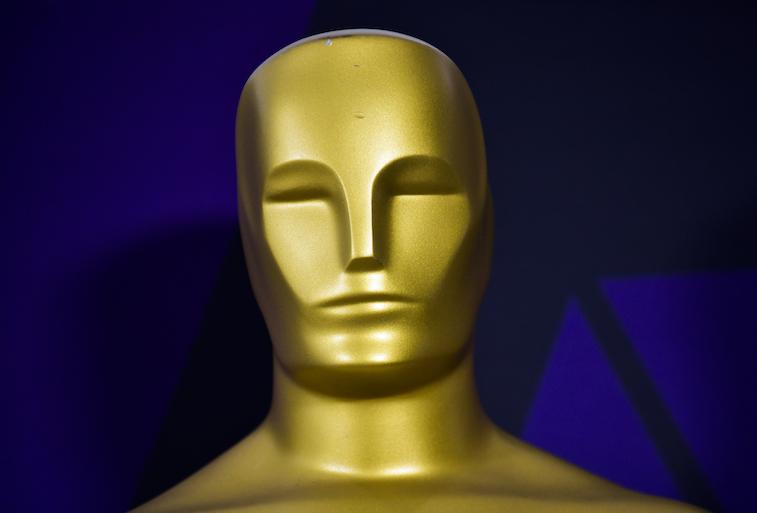 Photo of an Oscar statue