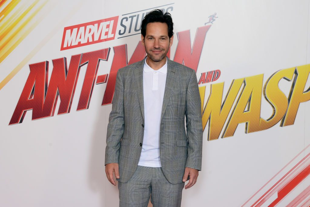 Paul Rudd at the 'Ant-Man And the Wasp' premiere