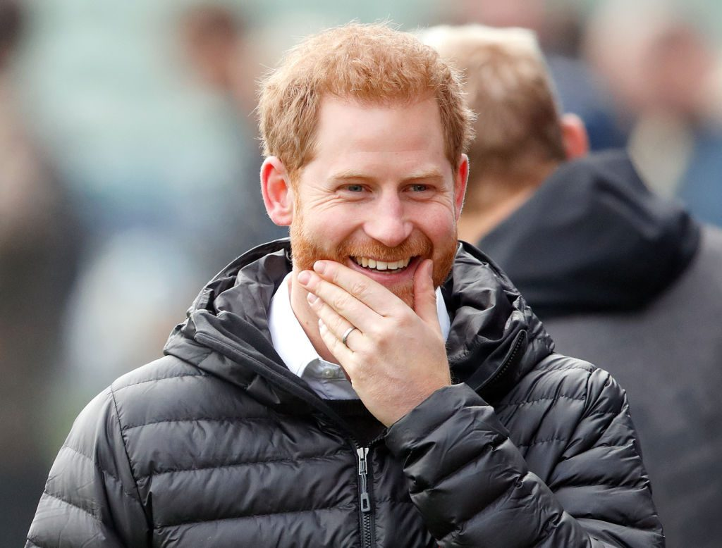 Prince Harry attends a Terrence Higgins Trust event ahead of National HIV Testing Week at Twickenham Stoop.