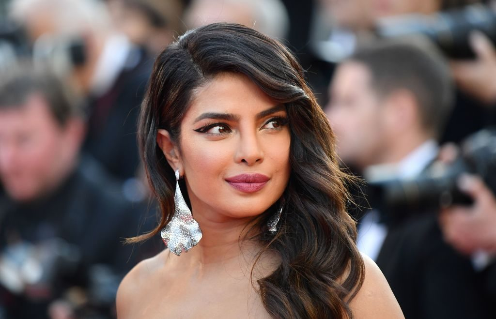 Priyanka Chopra arrives at a screening.
