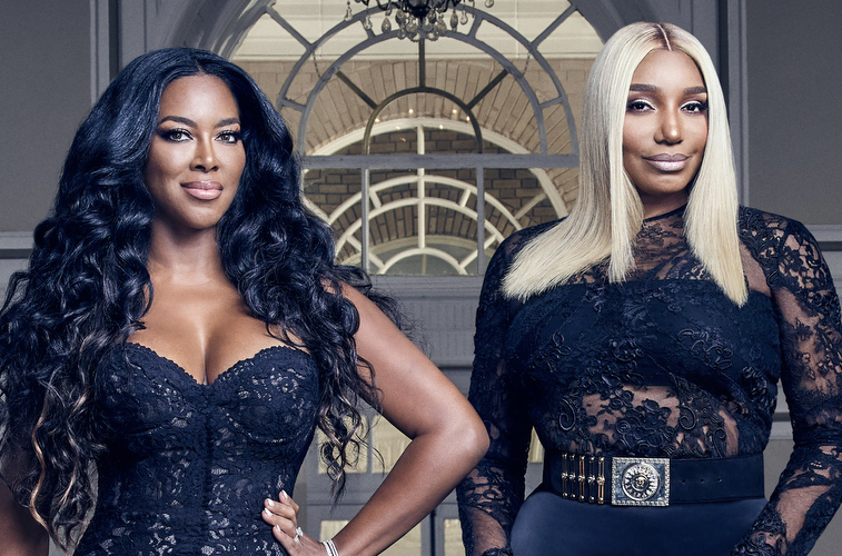 Kenya Moore and Nene Leakes