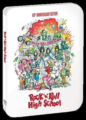 Rock ;n' Roll High School 40th Anniversary Blu-Ray