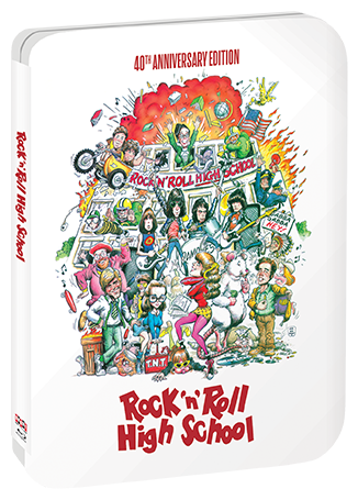 Rock ;n' Roll High School 40th Anniversary Blu-Ray