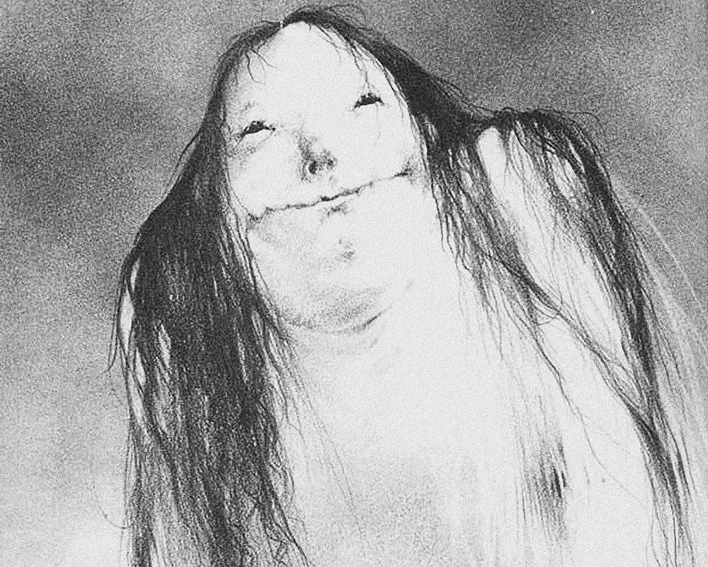 Stephen Gammell Pale Lady illustration