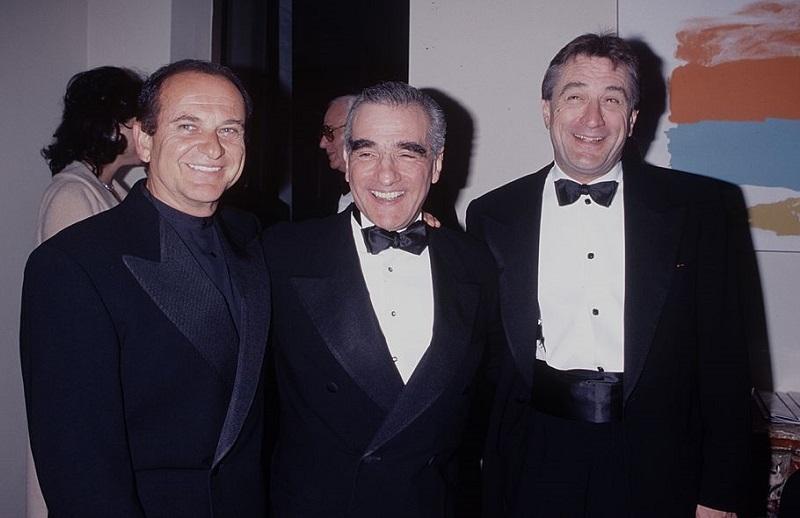 Joe Pesci, Robert De Niro, and Martin Scorsese