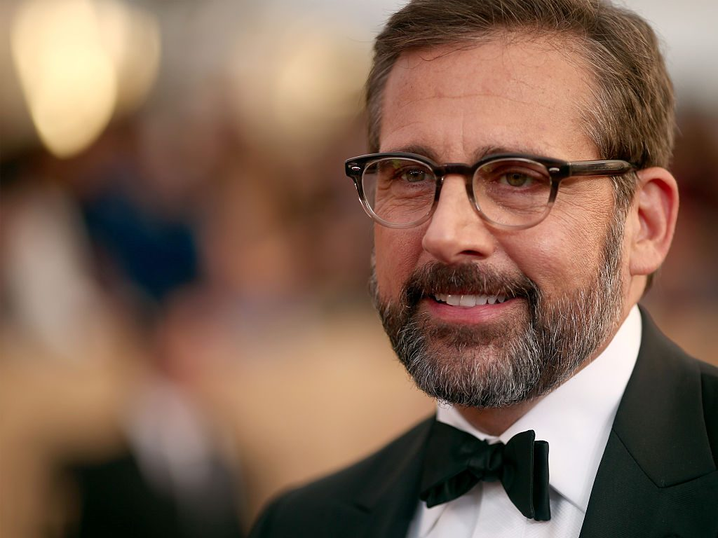 Steve Carell attends The 22nd Annual Screen Actors Guild Awards.
