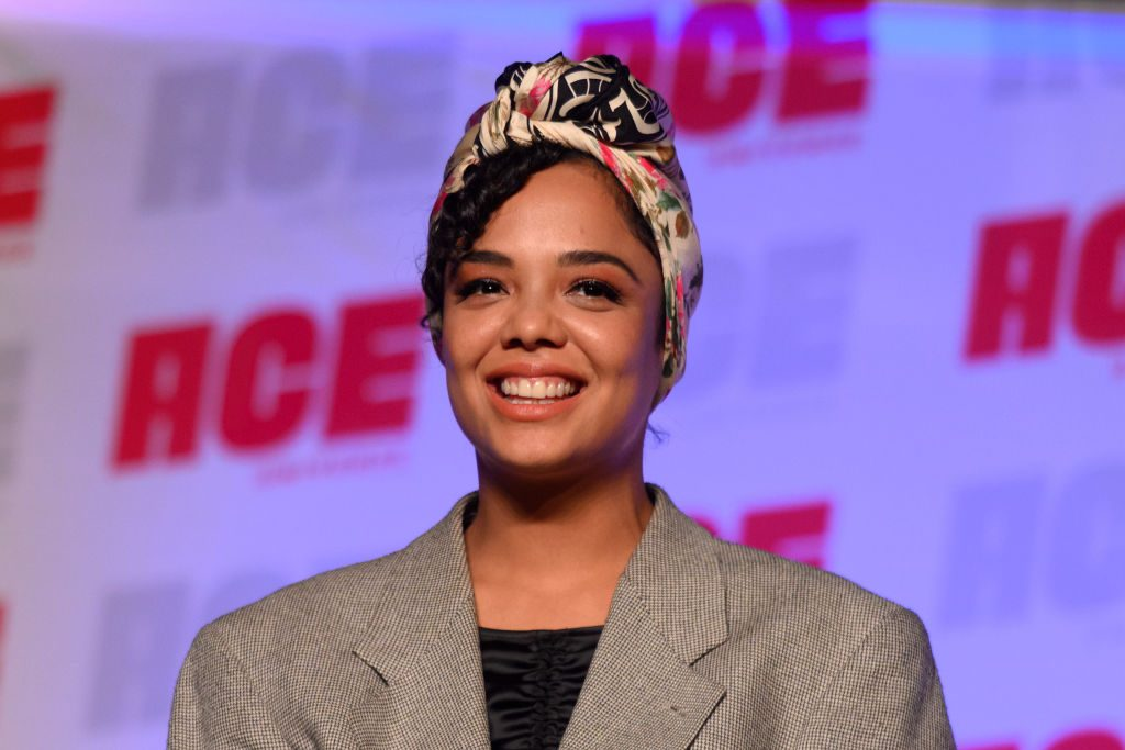 Tessa Thompson attends ACE Comic Con Midwest.