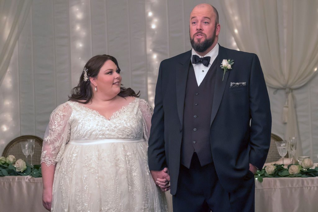 Chrissy Metz as Kate, Chris Sullivan as Toby on NBC's 'This Is Us.'