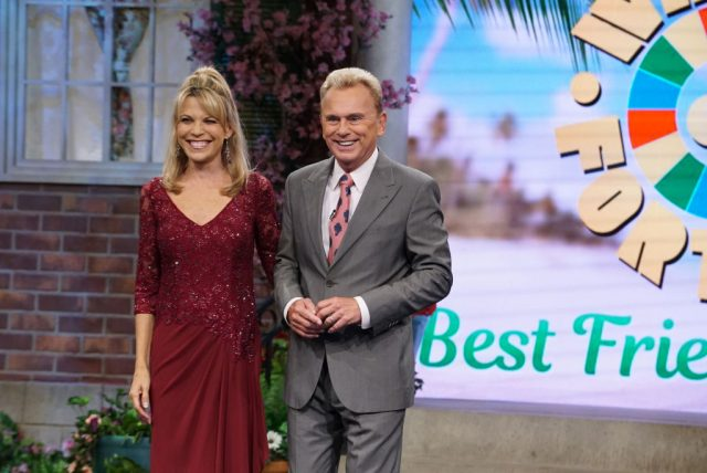 'Wheel of Fortune' Host Pat Sajak and Vanna White Adorably Coordinate Outfits On the Show