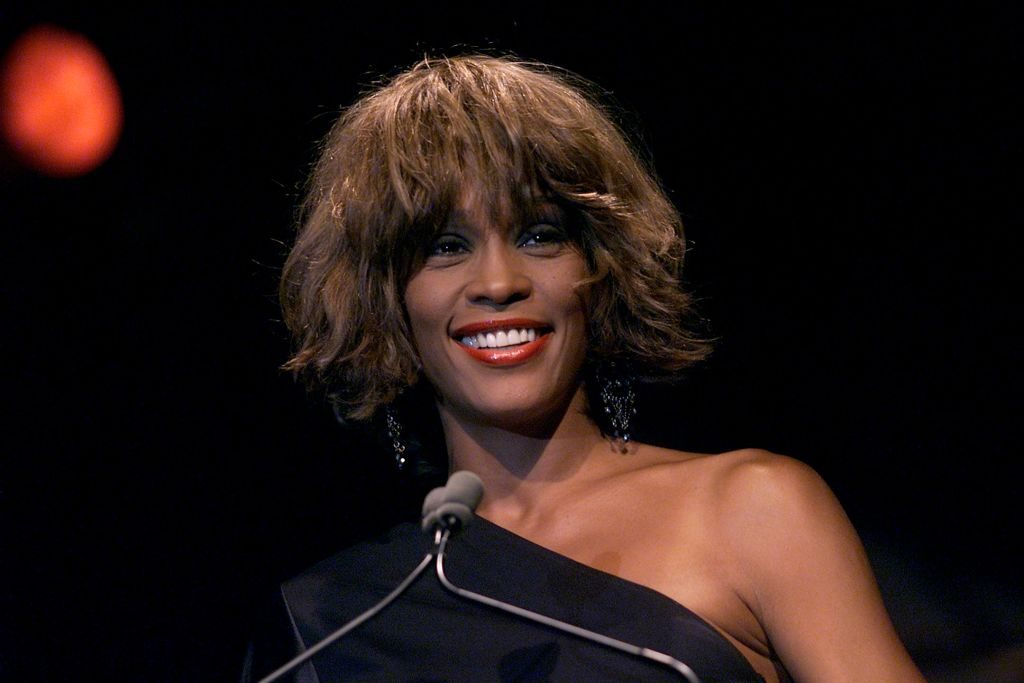 Whitney Houston at the Songwriters Hall of Fame 32nd Annual Awards.