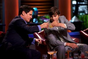 What Ashton Kutcher Said About Being A Guest on the 'Shark Tank' Panel