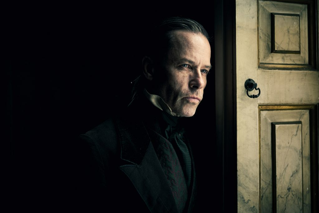 Guy Pearce as Ebenezer Scrooge