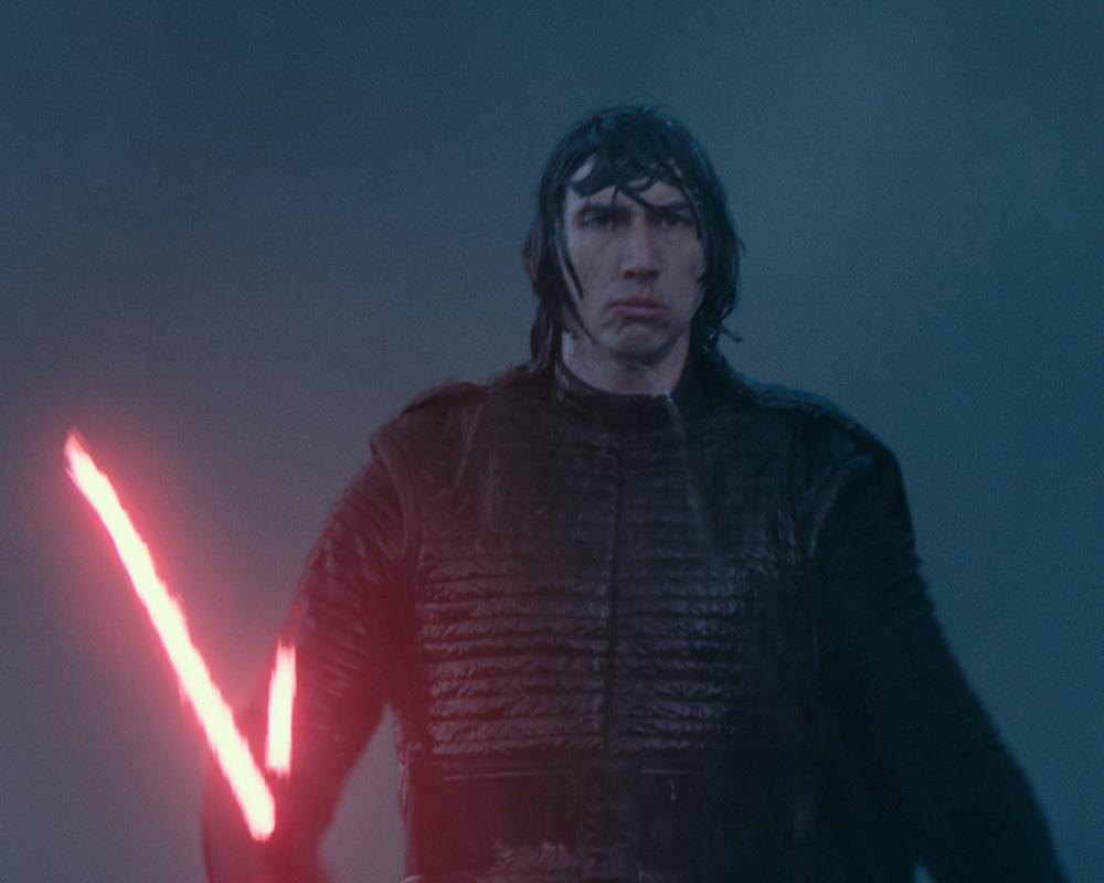 Adam Driver in Star Wars: The Rise of Skywalker