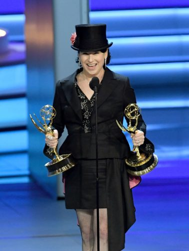 Amy-Sherman Palladino at the Emmy Awards on Sept. 17, 2018.