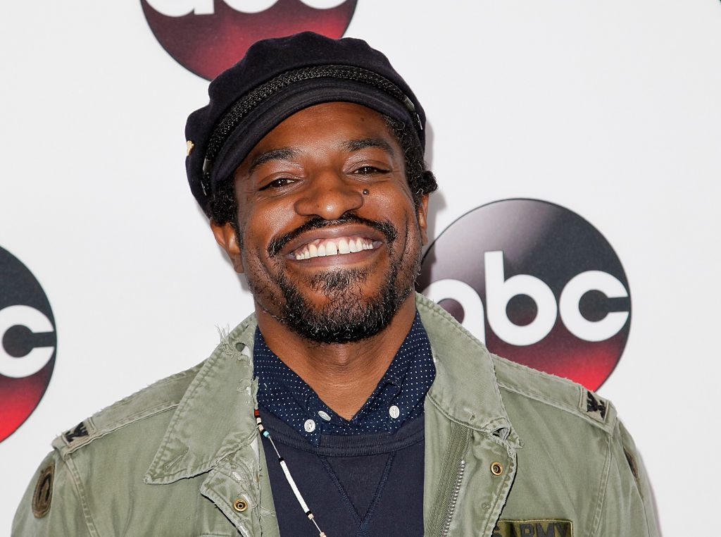 Andre 3000 on the red carpet in 2016
