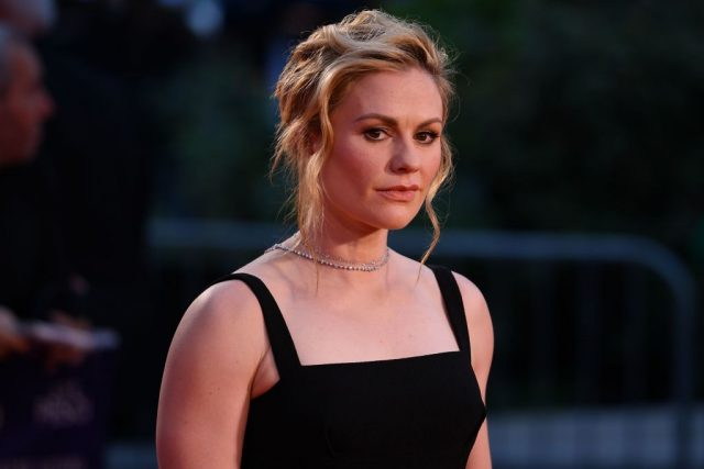 Anna Paquin at the premiere of 'The Irishman' on Oct. 13, 2019